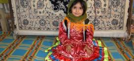 لباس گیلکی دخترانهhj لباس محلی(پرداخت هزینه پس از دریافت محصول)