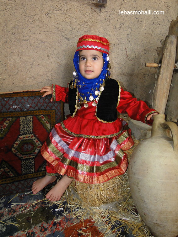 فروش لباس محلی بچه گانه