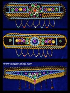هدبند سنتیv(پیشانی بندمحلی)Iranian dressسفارش لباس محلی