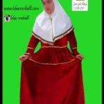 لباس قجری زنانه////
