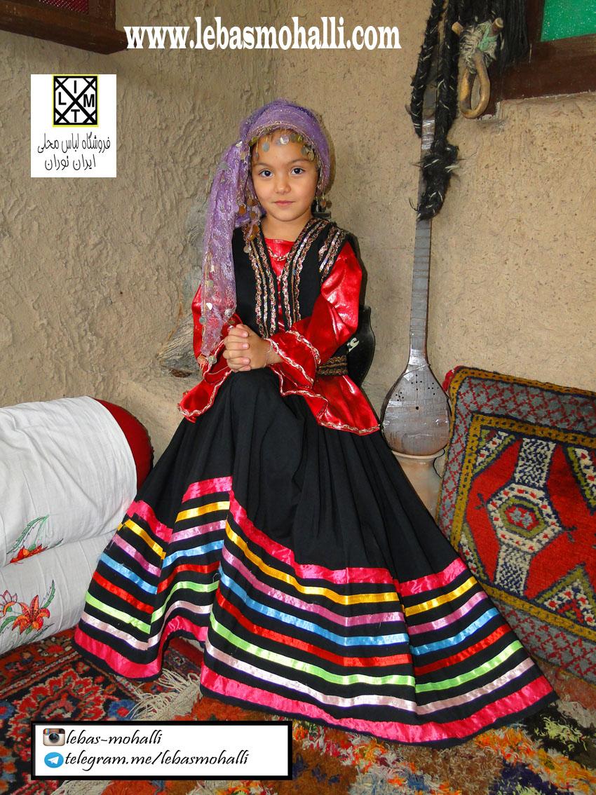 لباس محلی دخترانه 14