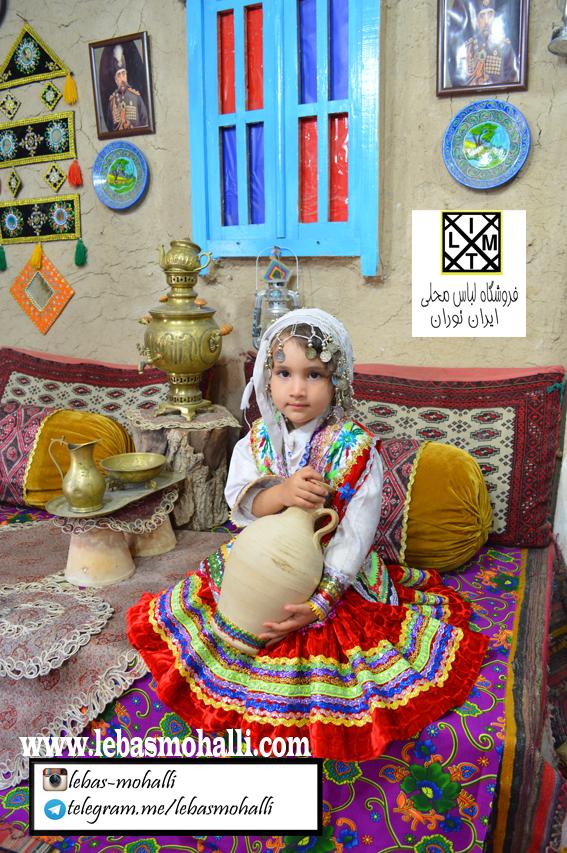 لباس محلی دخترانه 17
