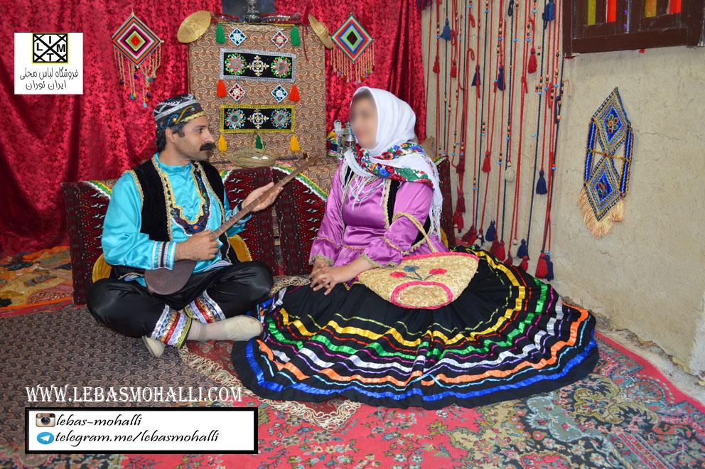 لباس محلی ایرانی t