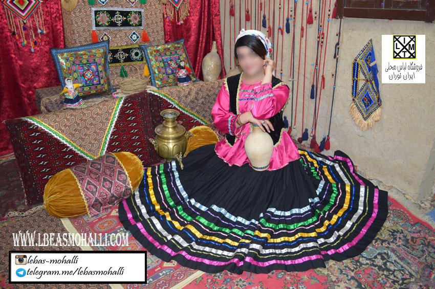 لباس محلی زنانه q