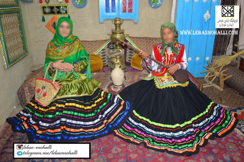 لباس محلی زنانه uw
