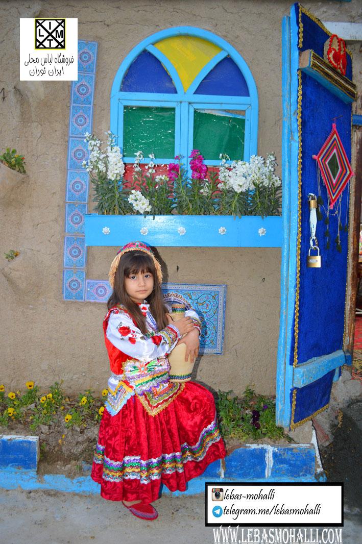 لباس محلی دخترانه zz